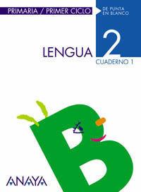 LENGUA 2. CUADERNO 1
