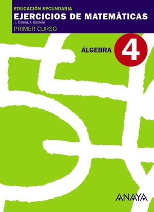 4. ÁLGEBRA.