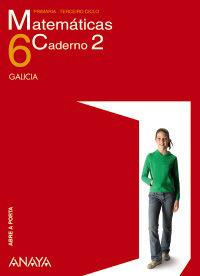 MATEMÁTICAS 6. CADERNO 2.