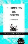 CUADERNO DE NOTAS AZUL 11,2X17,4CM