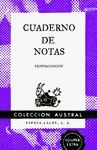 CUADERNO DE NOTAS VIOLETA 11,2X17,4CM
