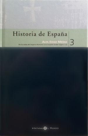 HISTORIA DE ESPAÑA EDICION DE EL MUNDO TOMO 2
