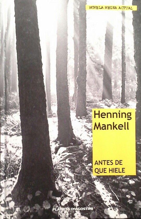 ANTES DE QUE HIELE