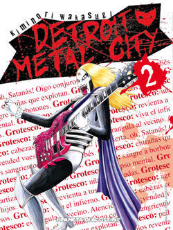 DETROIT METAL CITY Nº 02