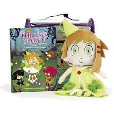 PACK PRINCESAS DRAGON + PELUCHE NUNA