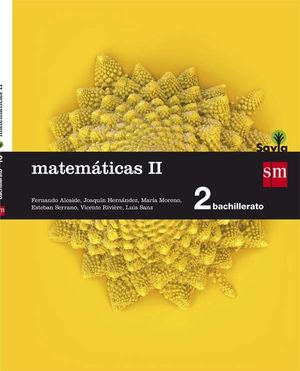 MATEMÁTICAS II. 2 BACHILLERATO. SAVIA