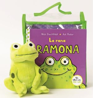 PACK LA RANA RAMONA + PELUCHE