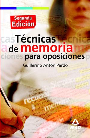 TÉCNICAS DE MEMORIA PARA OPOSICIONES