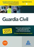 GUARDIA CIVIL. TEST PSICOTÉCNICO