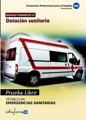 PRUEBAS LIBRES PARA LA OBTENCIÓN DEL TÍTULO DE TÉCNICO DE EMERGENCIAS SANITARIAS