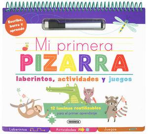 MI PRIMERA PIZARRA: LABERINTOS, ACTIVIDADES Y JUEGOS