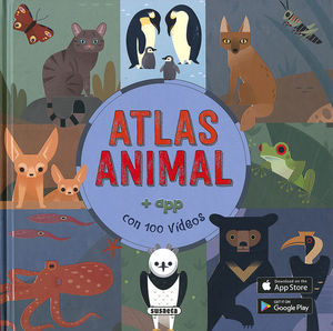 ATLAS ANIMAL + APP CON 100 VIDEOS