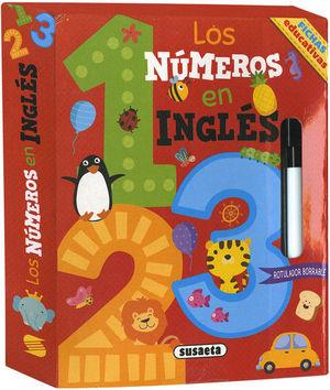 LOS NÚMEROS EN INGLÉS. FICHAS EDUCATIVAS