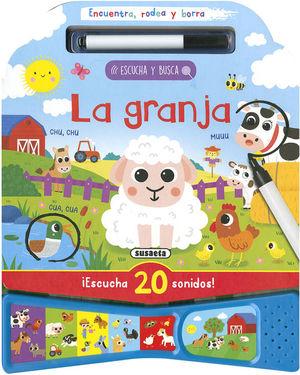 LA GRANJA. ESCUCHA Y BUSCA (ENCUENTRA, RODEA Y BORRA)
