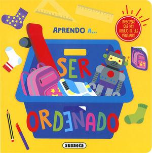APRENDO A... SER ORDENADO