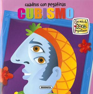 CUBISMO. CUADROS CON PEGATINAS DE ARTE