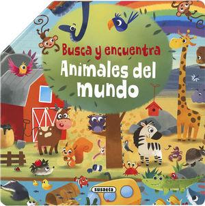BUSCA Y ENCUENTRA. ANIMALES DEL MUNDO