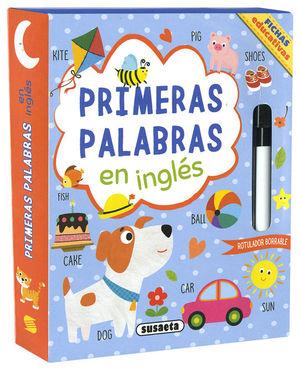 PRIMERAS PALABRAS EN INGLÉS