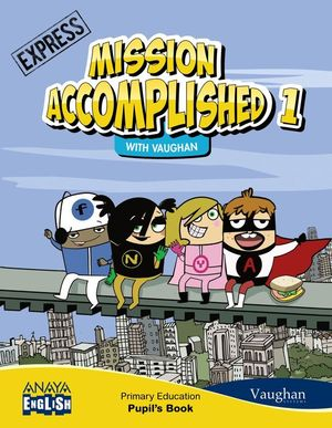 MISSION ACCOMPLISHED 1. EXPRESS. (WITH ACTIVITY BOOK)