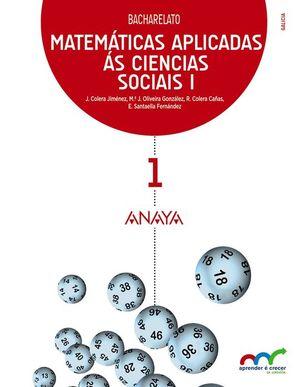 MATEMÁTICAS APLICADAS ÁS CIENCIAS SOCIAIS I.