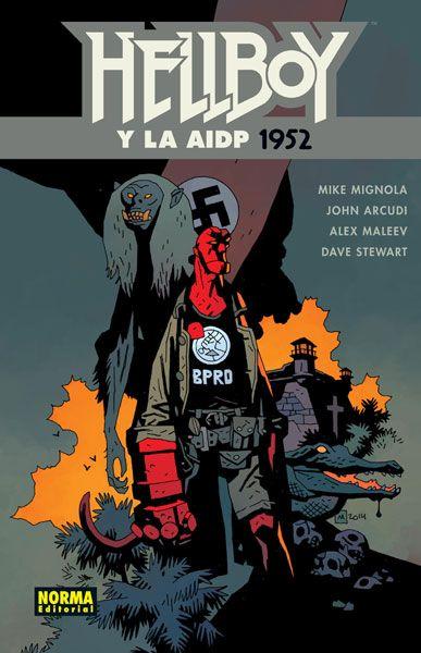 HELLBOY 19: HELLBOY Y LA AIDP 1952
