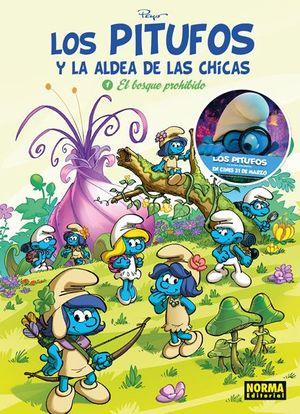 LOS PITUFOS Y LA ALDEA DE LAS CHICAS 1