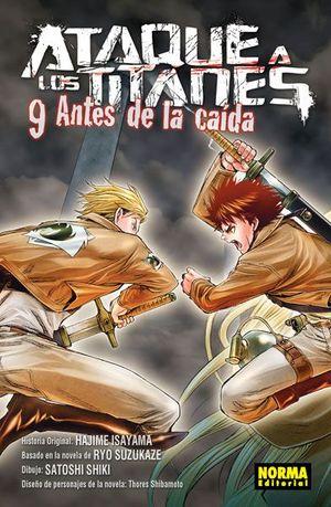ATAQUE A LOS TITANES. ANTES DE LA CAIDA, 9