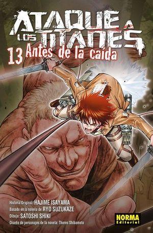 ATAQUE A LOS TITANES, 13