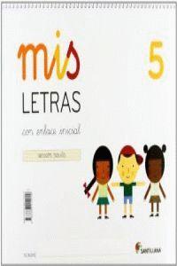 MIS LETRAS 5
