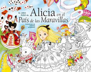 EL LIBRO PUZLE DE... ALICIA EN EL PAIS DE LAS MARAVILLAS