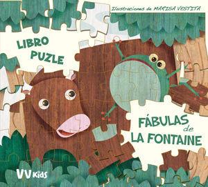 FABULAS DE LA FONTAINE LIBRO PUZZLE (+ 5 AÑOS)