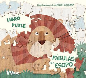 FABULAS DE ESOPO LIBRO PUZZLE (+ 5 AÑOS)