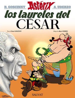 ASTERIX 18. LOS LAURELES DEL CÉSAR