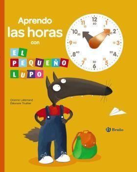 APRENDO LAS HORAS CON EL PEQUEÑO LUPO