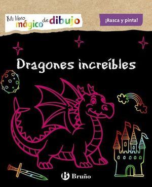 MI LIBRO MÁGICO DE DIBUJO. DRAGONES INCREÍBLES