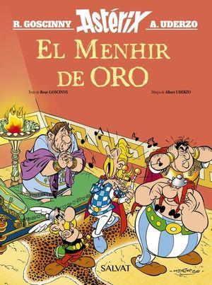 ASTÉRIX EL MENHIR DE ORO