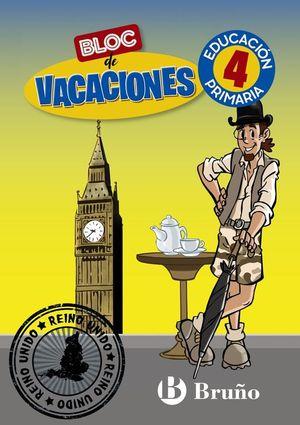 BLOC DE VACACIONES 4 PRIMARIA