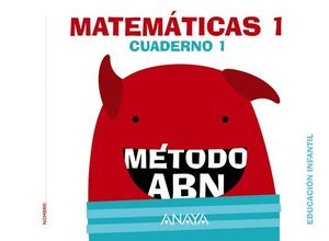MATEMATICAS ABN. NIVEL 1. CUADERNO 1.