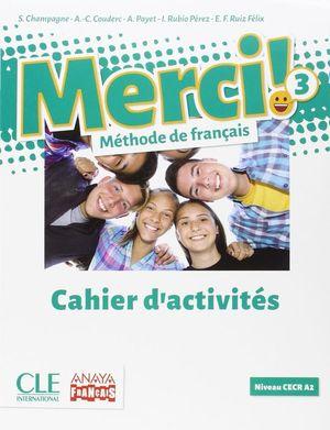 MERCI 3 NB CAHIER (FUNGIBLE) 16