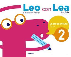 LEO CON LEA 2. PAUTA.
