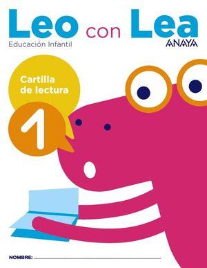 LEO CON LEA. CARTILLA DE LECTURA 1.