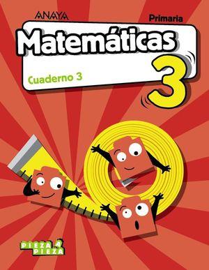 MATEMÁTICAS 3. CUADERNO 3.