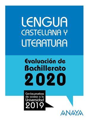 LENGUA CASTELLANA Y LITERATURA 2020