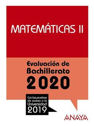 MATEMATICAS II 2020