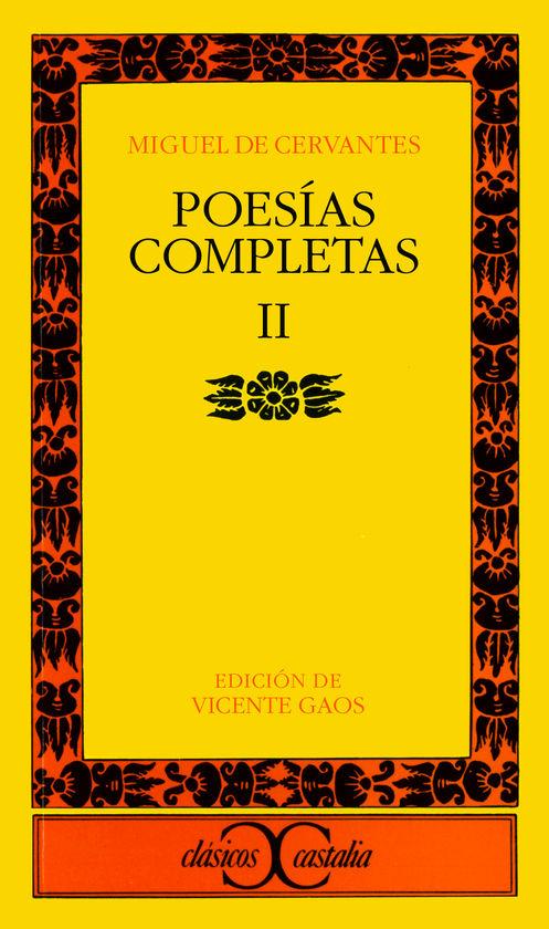 POESÍAS COMPLETAS, II