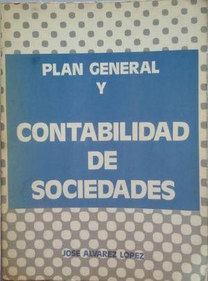 PLAN GENERAL Y CONTABILIDAD DE SOCIEDADES