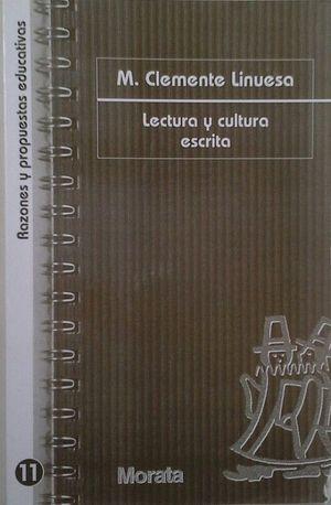 LECTURA Y CULTURA ESCRITA