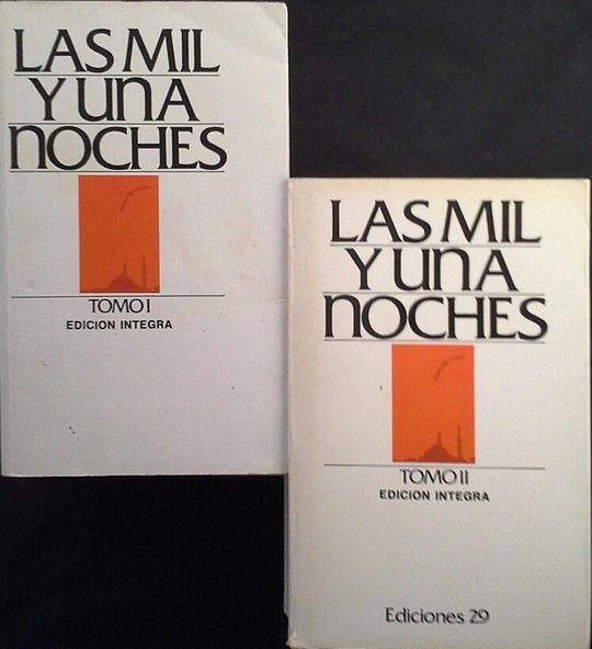 LAS MIL Y UNA NOCHES - TOMOS I Y II