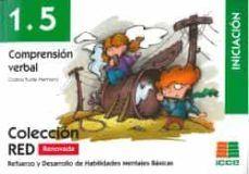COMPRENSION VERBAL 1.5. INICIACION