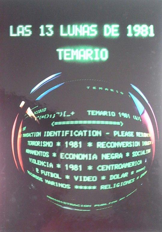 LAS TRECE LUNAS DE 1981